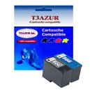 T3AZUR - Lot de 2 cartouches compatibles Dell M4646/ J5567/  M4640 / M4646