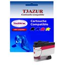 T3AZUR - Cartouche compatible Brother LC3237 (LC-3237M) XL Magenta
