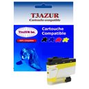 T3AZUR - Cartouche compatible Brother LC3237 (LC-3237Y) XL Jaune